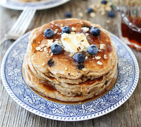 whole wheat granola pancake