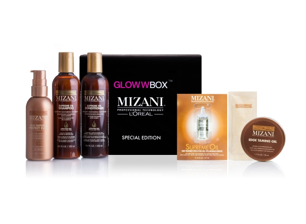 The July 2014 GlowwBox + Mizani Special Edition