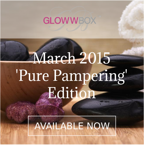 March Pure Pampering GlowwBox is now available!