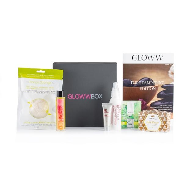 March 2015 Pure Pampering GlowwBox